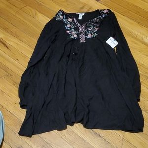 NWT Arizona Jean Co black dress size xs